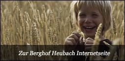 Internetseite Berghof Heubach