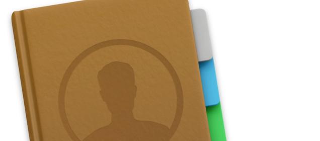 Apple Adressbuch Icon